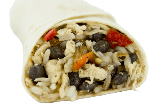 BluTaco Simply Southwest Goodness Burrito front